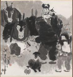 A Shepherd and Children
