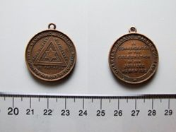 Token for the 50th Jubilee Temperance Society