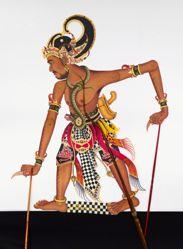 Shadow Puppet (Wayang Kulit) of Bima
