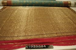 Sari of brocaded plain cloth