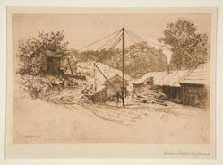 Bradley's Saw Mill, Rockville, Conn.