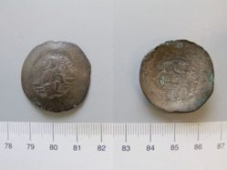 Aspron trachy of Manuel I from Constantinople