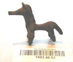 Figurine of a horse