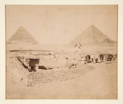 Temple de Chaffra, le Sphynx et les deux Grandes Pyramides (Temple of Khafre, the Sphynx and the Two Great Pyramids)
