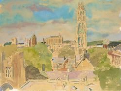View of Yale from Old Art Gallery
