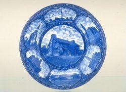 """Plate, """"Souvenir of Detroit"""""""