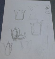 Drawing for Coffeepots