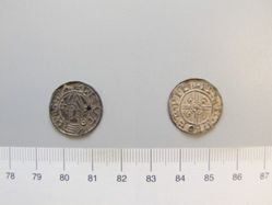 Silver Penny of Canute from York