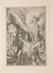 The Resurrection, from The Passion, #12 in a series of 12 engravings