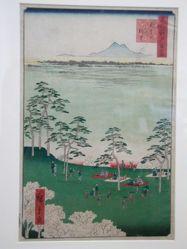 View of Asukayama : One hundred views of Edo