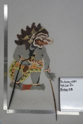 Shadow Puppet (Wayang Kulit) of Rasasa Hutan, from the set Kyai Drajat
