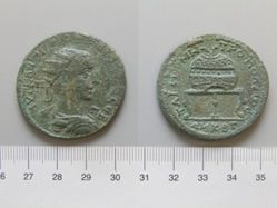 Coin of Gordian III, Emperor of Rome from Tarsus