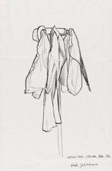 [Coat Rack] (Study for Cedar Bar)