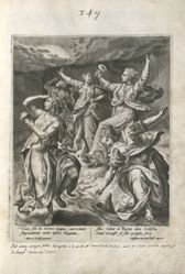 The Foolish Virgins in the Darkness, pl. 7 of 8 from the series Parable of the Five Wise and Foolish Virgins