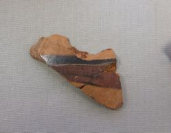 Fragments from the wall of a closed vessel