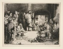 Christ Preaching ('La Petite Tombe')