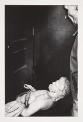 Untitled (Man with Classical Statue) 1972, from the portfoliio Chiaroscuro, 1982