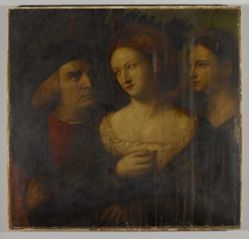Venetian Nobleman and Two Women