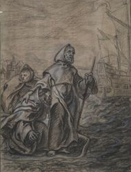 St. Francis of Paula Crossing the Strait of Messina