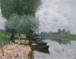 La Seine à Bougival (The Seine at Bougival)