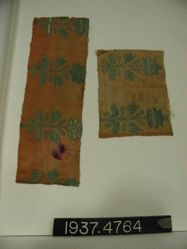 Brocaded fragment of double cloth