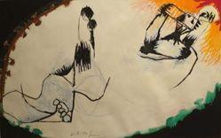 Drawing VII (21.8.72), 1972