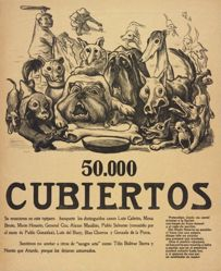50.000 cubiertos (50,000 Place Settings)