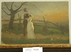 Compositional Study of Figures in a Landscape