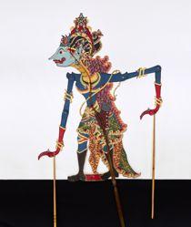 Shadow Puppet (Wayang Kulit) of Arimbi Raksasa