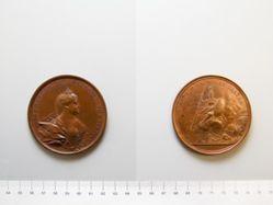 Bronze medal of Anna I