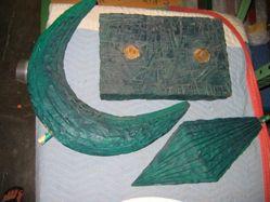 Green Standing Figure
