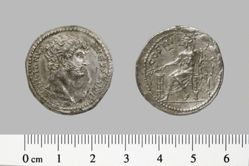 Cistophorus of Hadrian, Emperor of Rome from Colophon