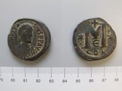 Large follis (40-nummi) of Anastasius