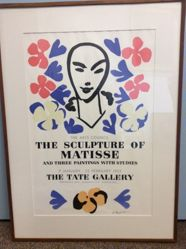 The Arts Council, The Sculpture of Matisse, And Three Paintings with Studies, 9 January - 22 February 1953, The Tate Gallery