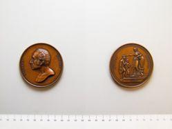 Medal of Gilbert Stuart, American Art Union