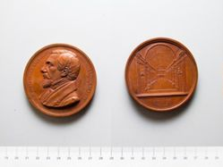 Bronze Medal from Belgium of A. J. P. Cluysenaar, Architect