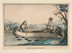 The Indian Canoe (no. 489)