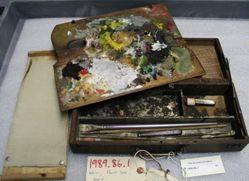 John Ferguson Weir's Paintbox