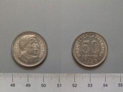 50 Centavos from Argentina