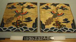 Mandarin squares (pair)