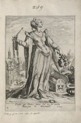 Wealth, plate 2 of 9 from the series Virtues and Vices