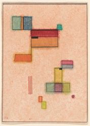 "Abstract Construction, from Will Grohmann's book ""Kandinsky"" (Paris: Éditions ""Cahiers d'Art,"" [1930])"