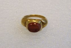 Intaglio Gemstone Ring