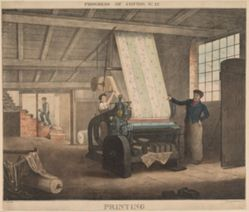 Progress of cotton, #12: Printing