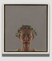 Self-Portrait (Ronne's Wreath)