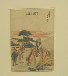 Nissaka, Twenty-sixth in the series Fifty-three Stations of the Tōkaidō