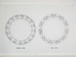 Ionic and corinthian plates