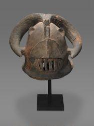 Mask Representing a Horned Hippopotamus (Nongkube)