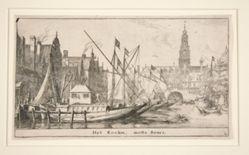 Het Rockin, mette Beurs (The Rokin, with the Bourse)