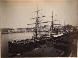 S. S. Orient - Sydney, Circular Quay, from the album [Sydney, Australia]
